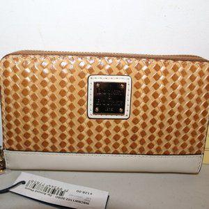 DOONEY & BOURKE ZIP AROUND PHONE WRISTLET CLUTCH